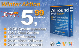 Profi-Server Allround Aktion