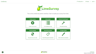 Limesurvey Administration