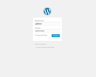 WordPress Theme installieren Screenshot 1