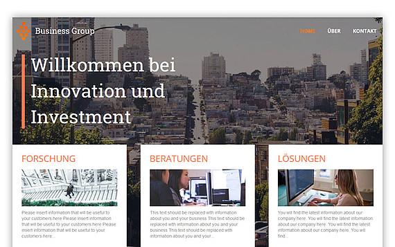 Homepage erstellen Schritt 4