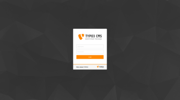 Typo3 - Login vom Intoduction Package