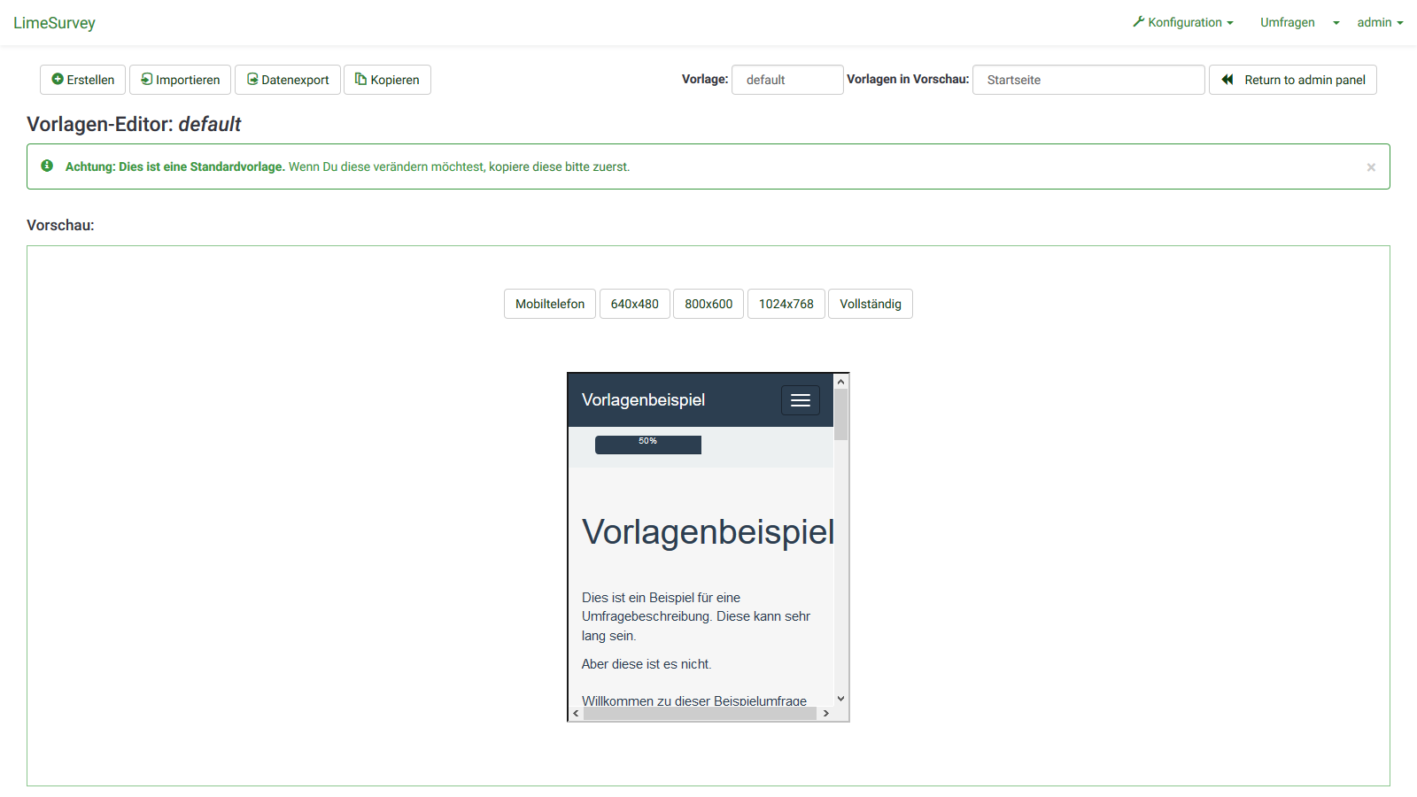 LimeSurvey - Umfrage Software für Ihre Homepage
