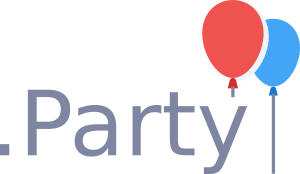 .party Domain registrieren